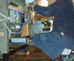 parsplumbing-Installation d'une nouvelle chaudière à eau chaude atmosphérique3
