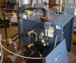 parsplumbing-Installation d'une chaudière à vapeur3