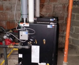 Parsplumbing-Changing the Heating System in church to High Efficient4