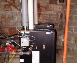 Parsplumbing-Changing the Heating System in church to High Efficient5