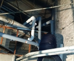 Parsplumbing-Changing the Heating System in church to High Efficient8