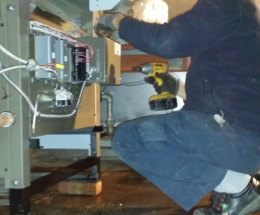 Parsplumbing-iNSTALLATION OF A NEW ATMOSPHERIC HOT WATER BOILER3