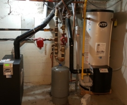parsplumbing-Installation of a hetaing and hot water tanks4